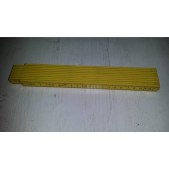 Tisa-Line Wooden Folding rule