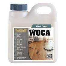 Woca Oil Care 1 Liter Naturel of Wit (klik hier voor de inhoud)