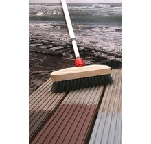 Terrace Scrubber with handle