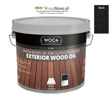 Woca Exterior Oil ZWART (klik om inhoud te kiezen)