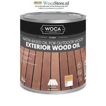 Woca Exterior Oil GRAY for Terrace, Furniture, Log Cabin etc.