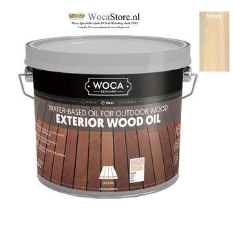 Woca Exterior Oil WHITE for Terrace, Furniture, Log Cabin etc.