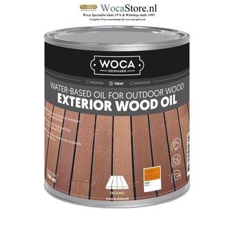 Woca Exterior Oil TEAK for Terrace, Furniture, Log Cabin etc.