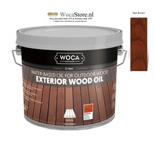 Woca Exterior Oil RED BROWN (2.5 Liter) **