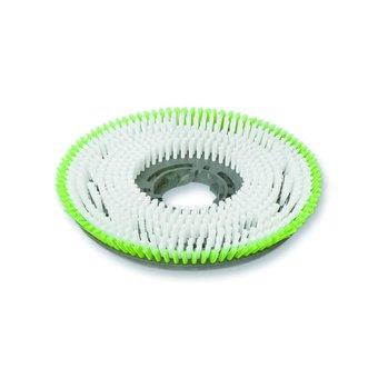 Tisa-Line Woodboy Scrub Brush Disc White / Green
