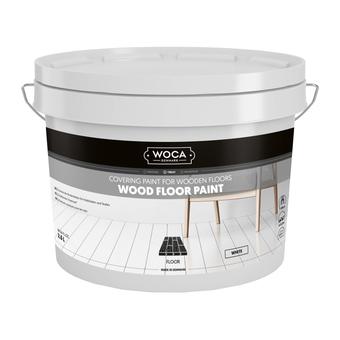 Woca Floor paint / Floorpaint WHITE 2,5 Ltr