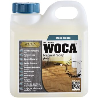 Woca ACTION: Nature Soap 3x 1 Ltr Natural or WHITE