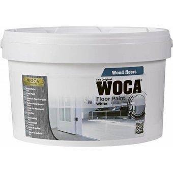 Woca Vloerverf / Floorpaint WIT 2,5 Ltr