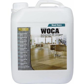 Woca Advanced 2C Lacquer 5 Liter (Choose your gloss level 10 or 20)