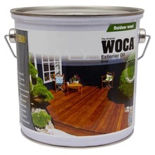 Woca Exterior Oil GRAY (click to choose content)