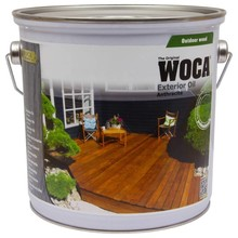 Woca Exterior Oil ANTHRACITE (click to choose content)
