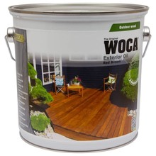 Woca Exterior Oil RED BROWN for Terrace, Furniture, Log Cabin etc.