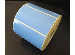 Zebra etiket 87000 blauw /102x51/K25/1 rol 1.370