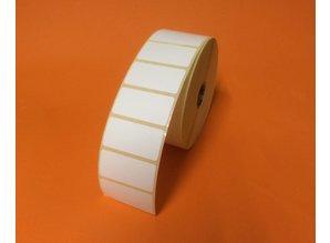 Zebra etiket 880007-025D, 51x25mm, doos 12 rol