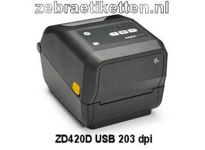 Zebra ZD420D DT printer (USB) 203 dpi