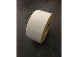DT etiketten 40x20mm, 1.650 per rol
