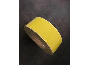 DT etiketten geel 48x140mm rol à 500 et.