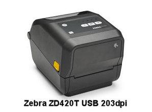 Zebra ZD420T USB 203dpi thermal transfer printer