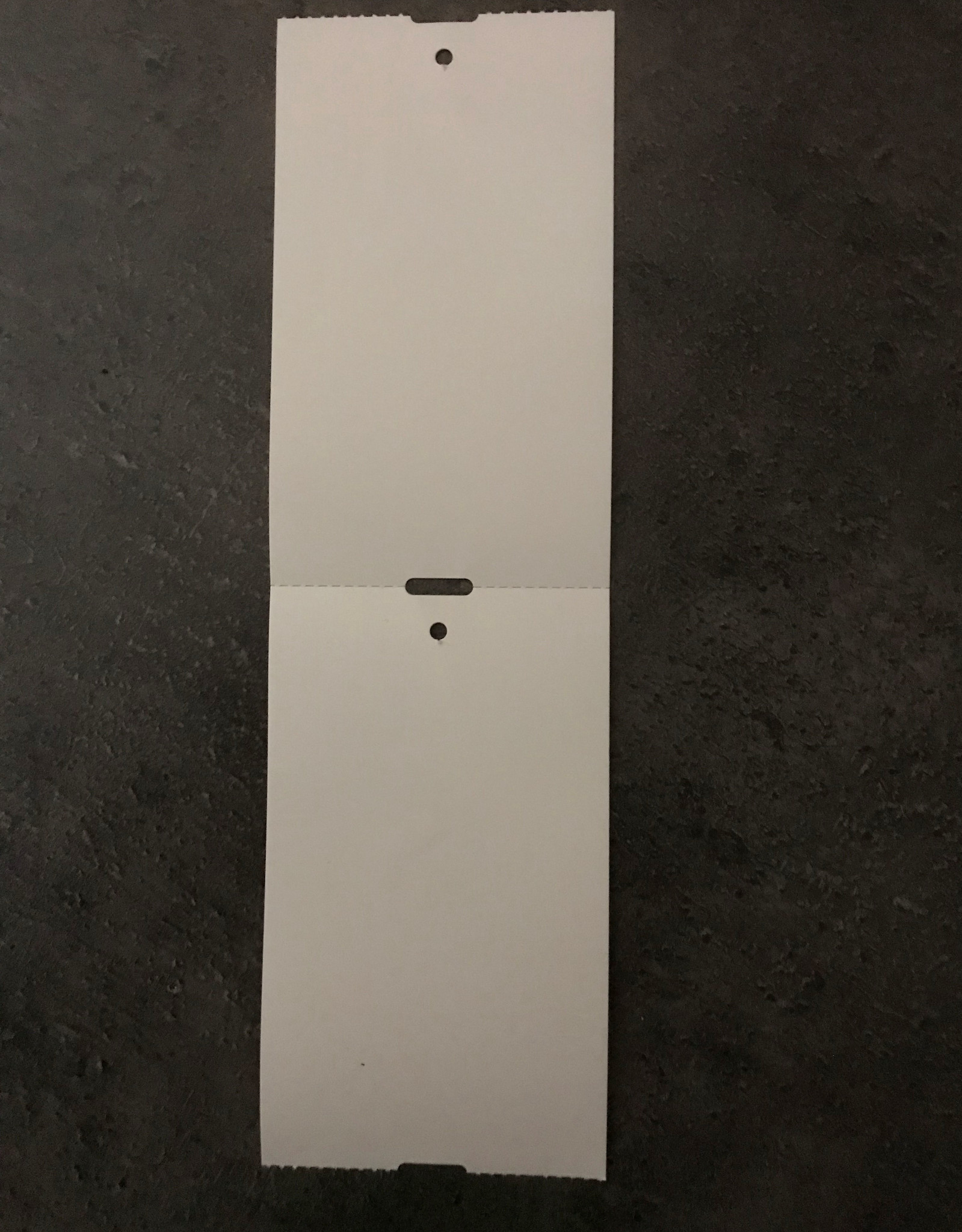 kledigkaartje / schapkaartje 60x101mm