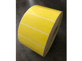 Zebra 102x38mm, geel, rol à 4.500 etiketten