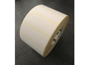 Papier etiket 102x38mm,rol à 3634 etiketten