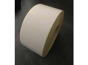 Papier etiket non permanent 80x40mm, rol à 3.750 etiketten