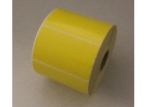 DT etiket geel 70x40mm, 1000 etiketten per rol
