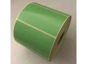 DT etiket groen 70x40mm, 1000 per rol