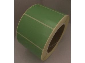 DT etiket groen 70x40mm, rol à 1000, K76