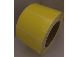 DT etiket geel 70x40mm, rol à 1000, K76
