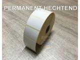 DT etiket 40x25mm permanent rol à 2.000 et.