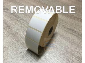 Direct thermisch etiket 40x25 removable  rol à 2.000 et.