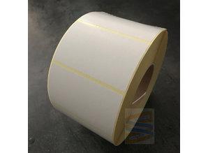 Papier etiket 100x60mm removable rol à 2.500 et.