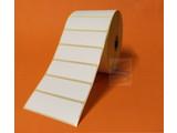 DT etiket 76x25mm, 2.580 per rol, doos 12 rol