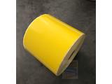 DT etiket geel 102x102mm, rol à 700 etiketten