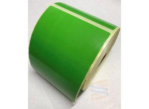 DT etiket 102x152mm groen, rol à 475 etiketten