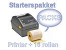 PACKS starterspakket ZD420D (Ethernet)