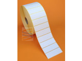 Zebra papier etiket  57x19mm, rol à 3.315 etiketten