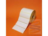Papier etiket 102x38mm, rol à 1.790 etiketten