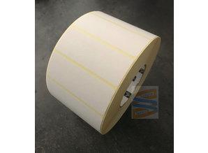 Direct thermisch etiket 102x38mm, removable, rol à 3.500 etiketten