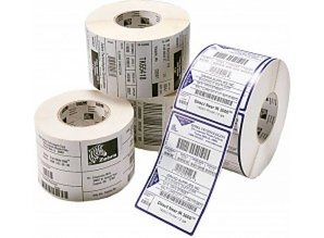 Zebra etiket 880010-050/ 51x51 /K76/2740p.rol/ds à 10 rl.