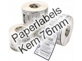Zebra paperlabels K76