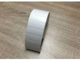 Zebra etiket wit 57x19 polyester, rol à 3.300 etiketen