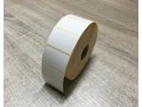 Papier etiket 40x25 removable rol à 2.000 etiketten