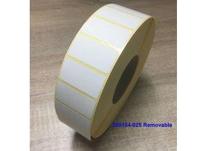 Zebra 880154-025 Remobvable 51x25mm 5.180 p.rol