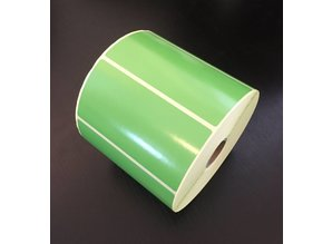 Zebra dt etiket groen 102x51mm, rol à 1.370 et.