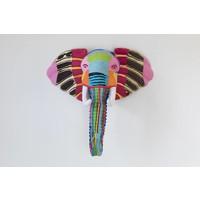 Wandkunst Elefant