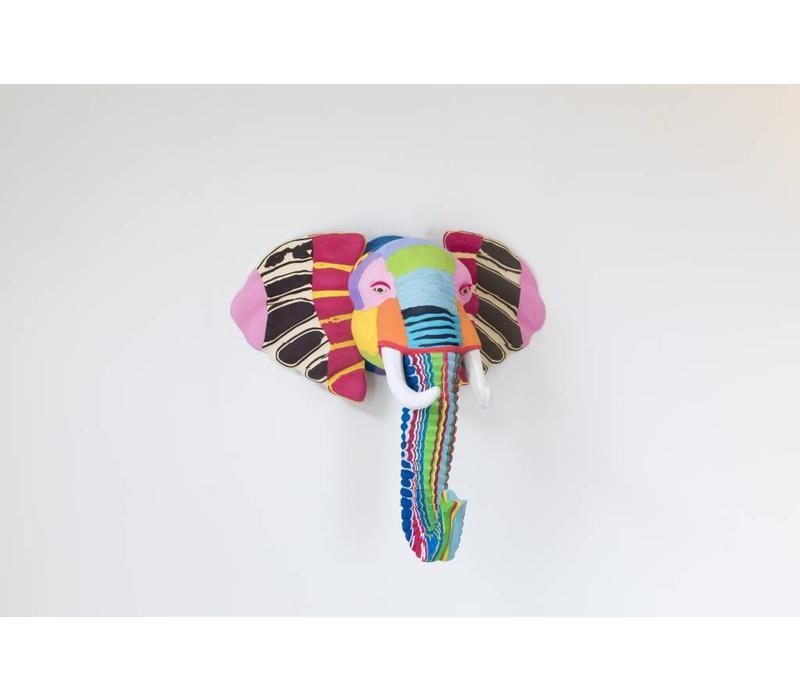 Art mural éléphant