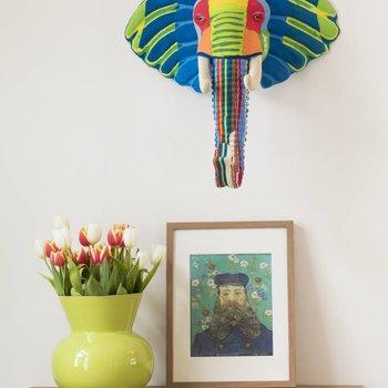 Ocean Sole  Art mural éléphant
