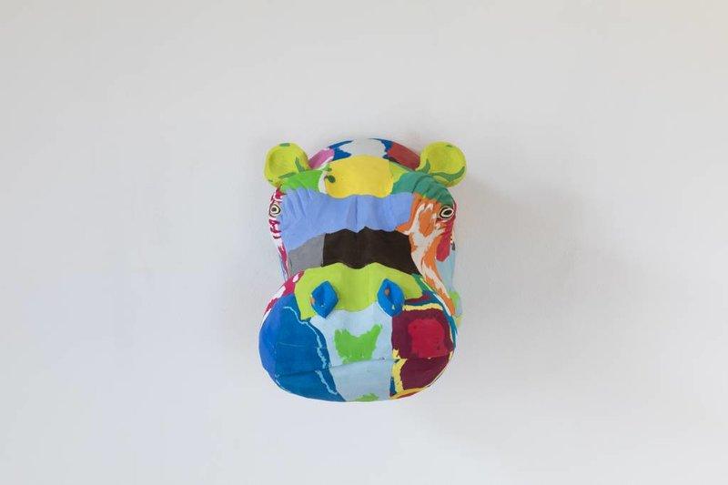 Ocean Sole  Art mural Hippopotame
